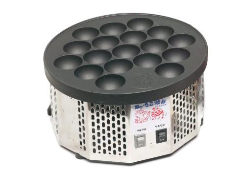 【たこ焼き器】電気式半自動 踊る!たこ焼き器 【smtb-TK】