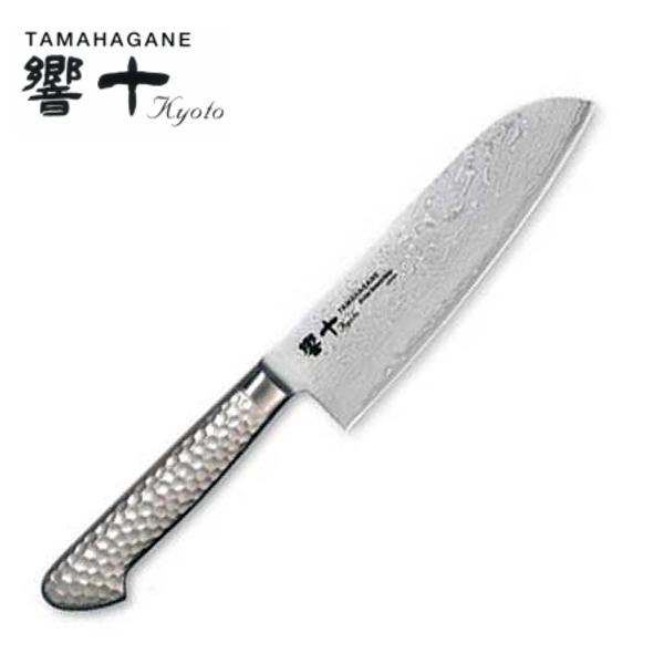 響十/TAMAHAGANE 63層ダマスカス 万能 160mm KS-1115_KO