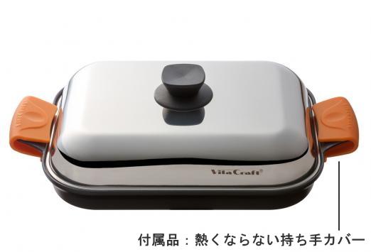 ビタクラフト グリルパン 外径27.8×22.0cm NO.3001