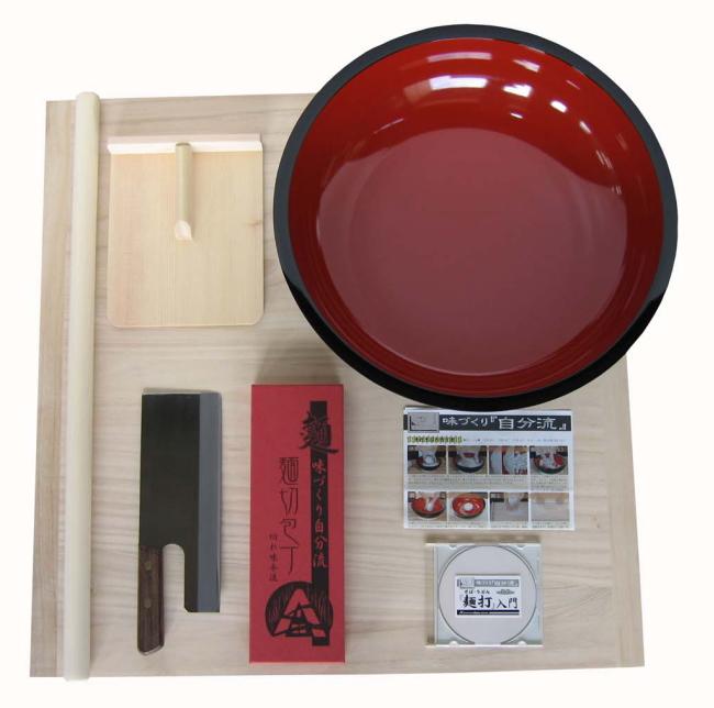 麺台75×75cm 5~6人用 普及型 そば打ちセット 大 A-1260 実演DVD付麺打ちセット 蕎麦打ち