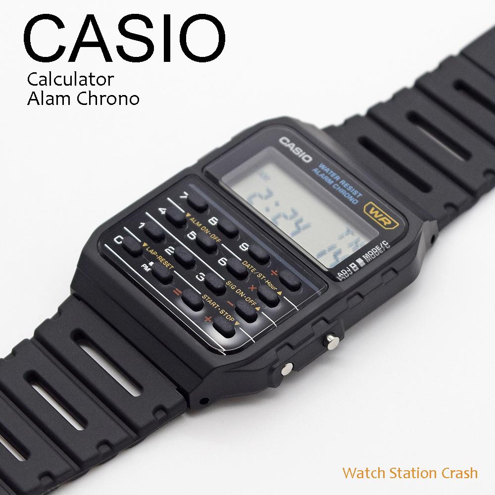 送料無料 日本語取扱説明書付 ポストインでお届けします 5年保証 CASIO カシオ デジタル 腕時計 期間限定送料無料 メンズ 業界No.1 チープカシオ ストップウォッチ 機能付き 後続機種 CA53W-1 アラーム チプカシ 計算機 CA-50