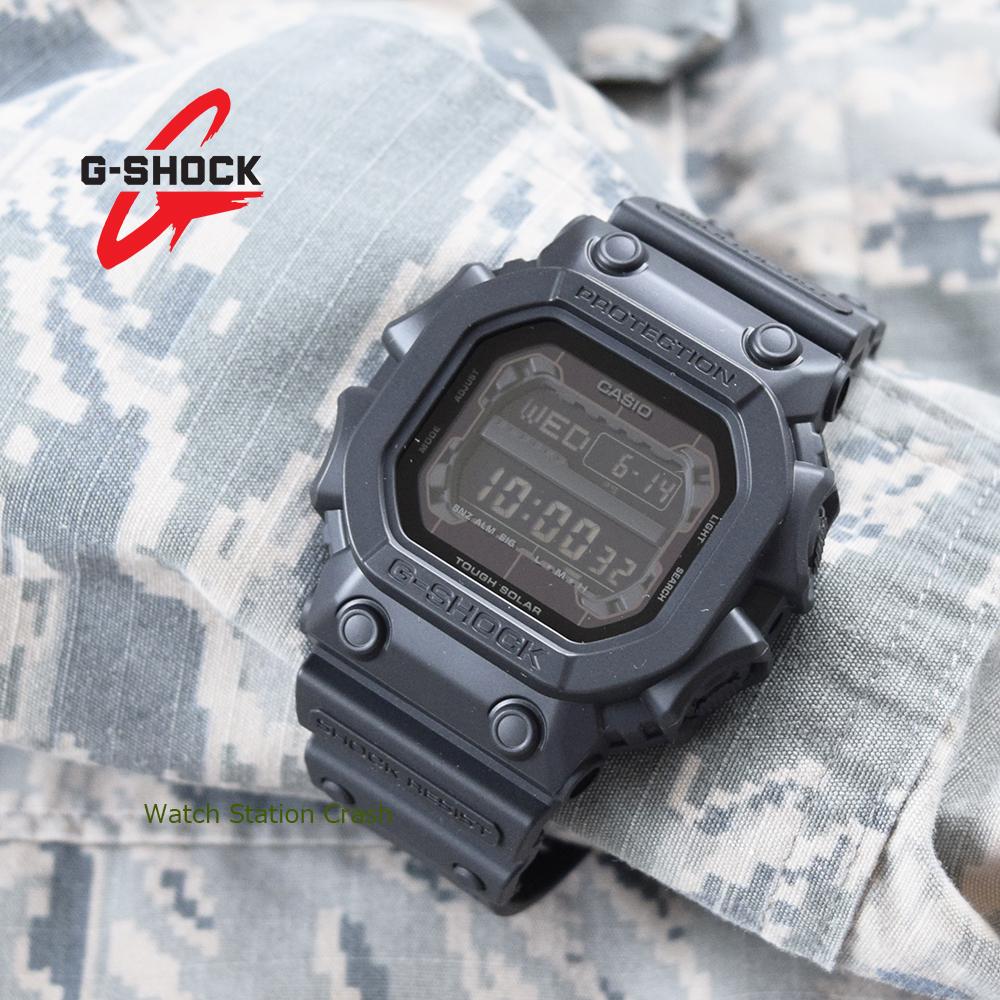 【タフソーラー】GX56BB-1D GX56BB G-SHOCK CASIO カシオ Gショック g-shock ブラック ミリタリー マットブラック メンズ 男性 腕時計 デカ