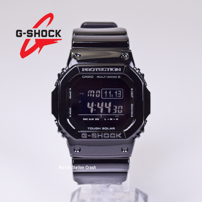 【電波ソーラー】カシオ G-SHOCK 電波時計 GW-M5610BB-1 GWM5610BB g-shock ブラック タフソーラー メンズ腕時計