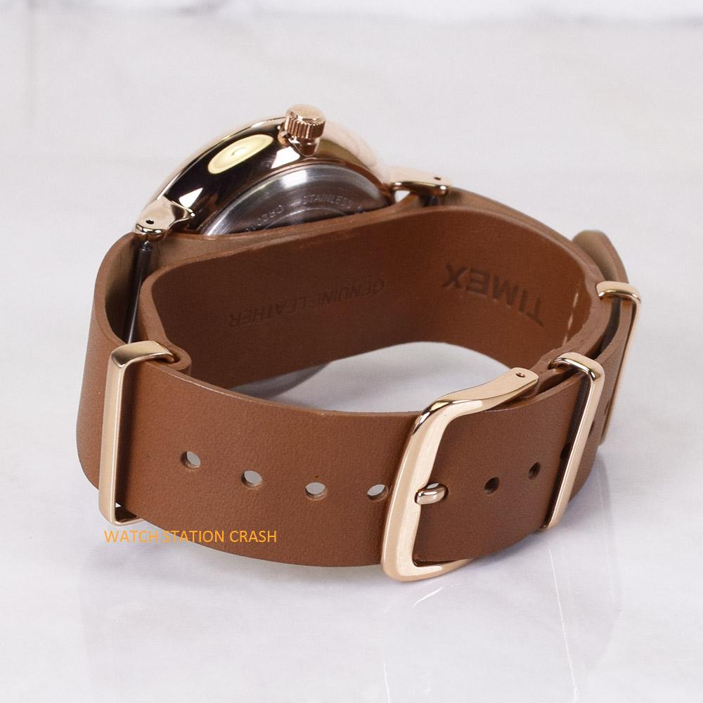 タイメックス TIMEX TW2R28800 tw2r288 TIMEX SOUTH VIEW ローズゴールド/ブラウン 本革ベルト 41mm 腕時計 男性 女性 メンズ レディース