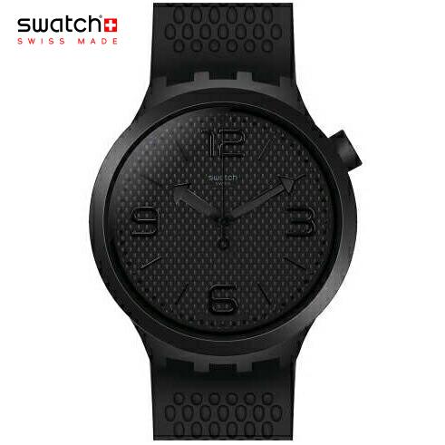 【NEW MODEL】ポイント10倍 swatch(スウォッチ) BLG BOLD ブラック 腕時計 メンズ BBBLACK BBブラック SO27B100 【送料無料】安心の日本正規品