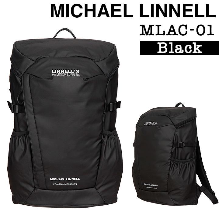 MICHAEL LINNEL マイケル リンネル A.R.M.Sシリーズ MLAC-01 超軽量 BACKPACK バックパック リュック 29L メンズ レディース アーミーコーティング 多機能 ブラック