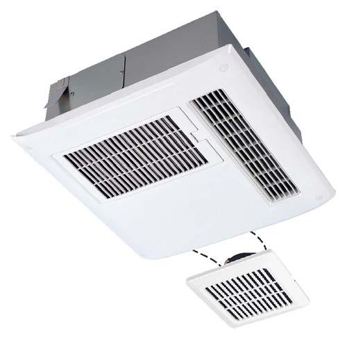 三菱電機 浴室換気乾燥機 バスカラット24(24時間換気機能付・100V電源/2部屋用) V-122BZ(受注生産品)