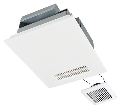 三菱電機 浴室換気乾燥機 バスカラット24(24時間換気機能付・100V電源/2部屋用) V-142BZL