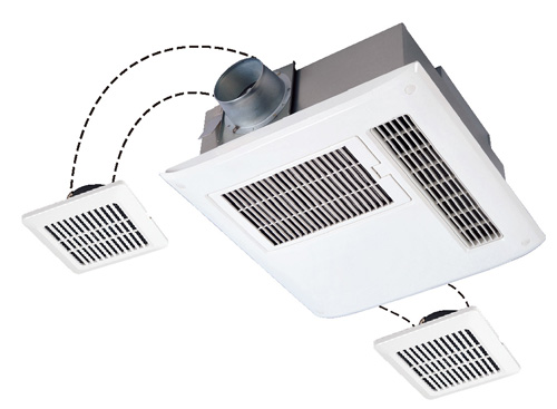 三菱電機 浴室換気乾燥機 バスカラット24(24時間換気機能付・200V電源ハイパワータイプ/3部屋用) V-223BZL(受注生産品)