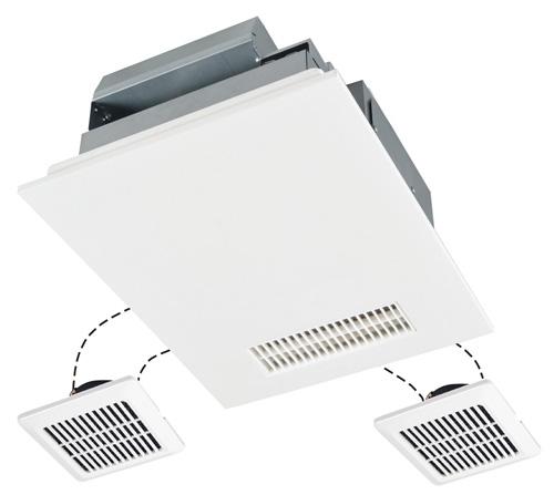 三菱電機 浴室換気乾燥機 バスカラット24(24時間換気機能付・200V電源ハイパワータイプ/3部屋用) V-243BZL
