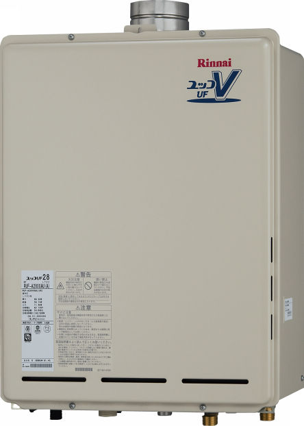 Rinnai(リンナイ) ガス給湯器 オート 屋外壁掛 PS上方排気型20号(Q21の機能なし) RUF-A2000SAU(A)