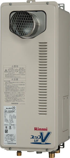 Rinnai(リンナイ) ガス給湯器 フルオート PS扉内設置型16号 薄型スリムタイプ RUF-VS1605AT