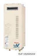 Rinnai(リンナイ) ガス給湯器 フルオート 屋外壁掛 PS設置型16号 薄型スリムタイプ RUF-VS1615AW