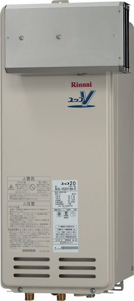 Rinnai(リンナイ) ガス給湯器 音声ナビ アルコープ設置型16号 スリムタイプ  RUX-VS1606A-E