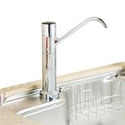 クリンスイ 浄水器 ビルトイン型 アンダーシンクタイプ専用水栓 A602ZC 本体セット(カートリッジUZC2000付)