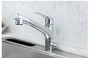 KITZ アンダーシンク2形 浄水器一体型 混合水栓タイプ OSS-ES7(カートリッジOSSC-7付)