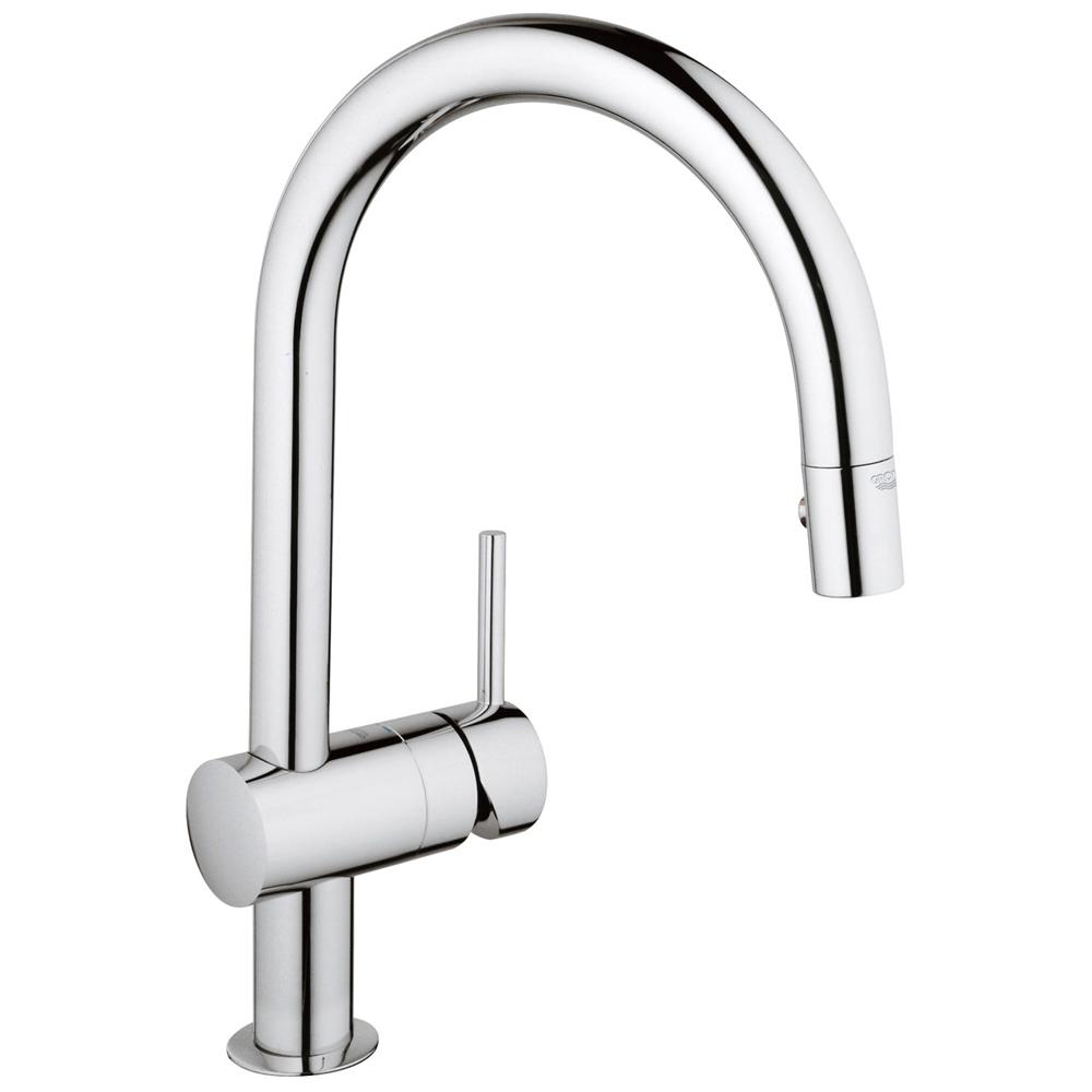 GROHE(グローエ) キッチン水栓金具 ミンタ シングルレバーキッチン混合栓 30280000