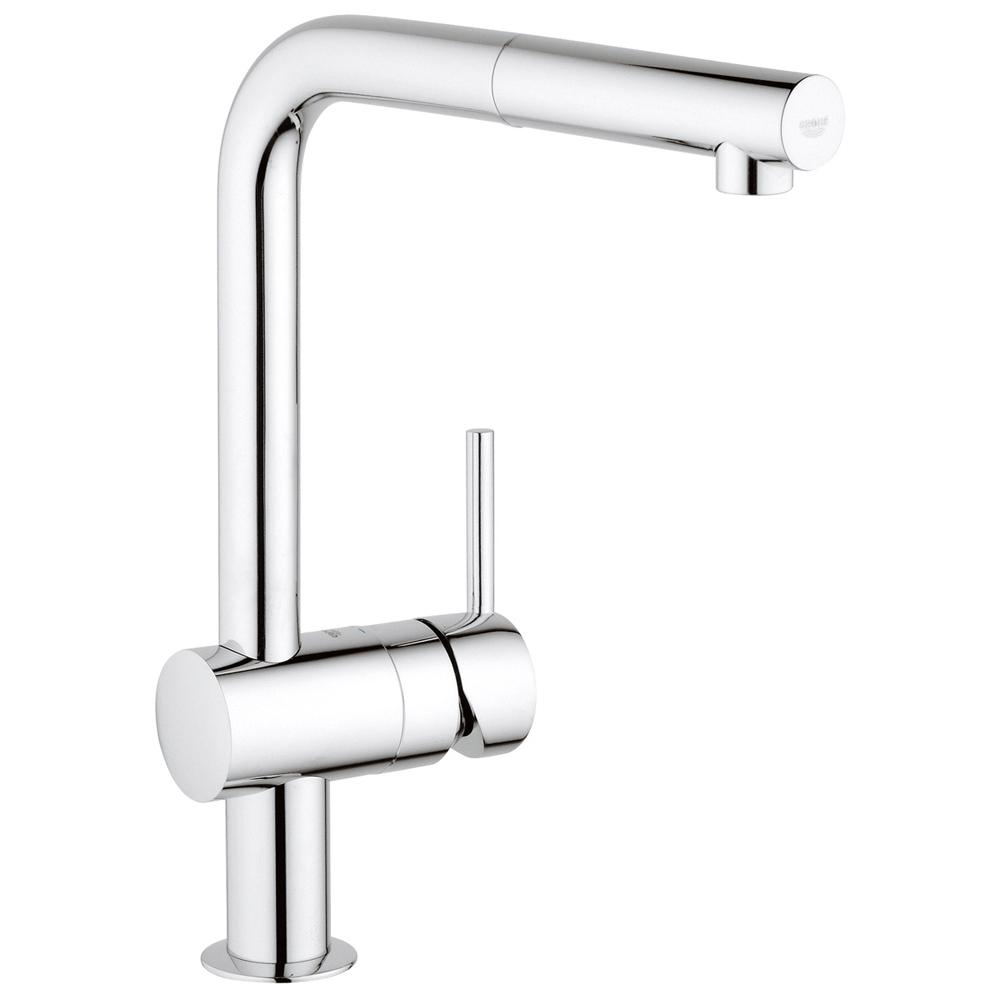 GROHE(グローエ) キッチン水栓金具 ミンタ シングルレバーキッチン混合栓 30281000