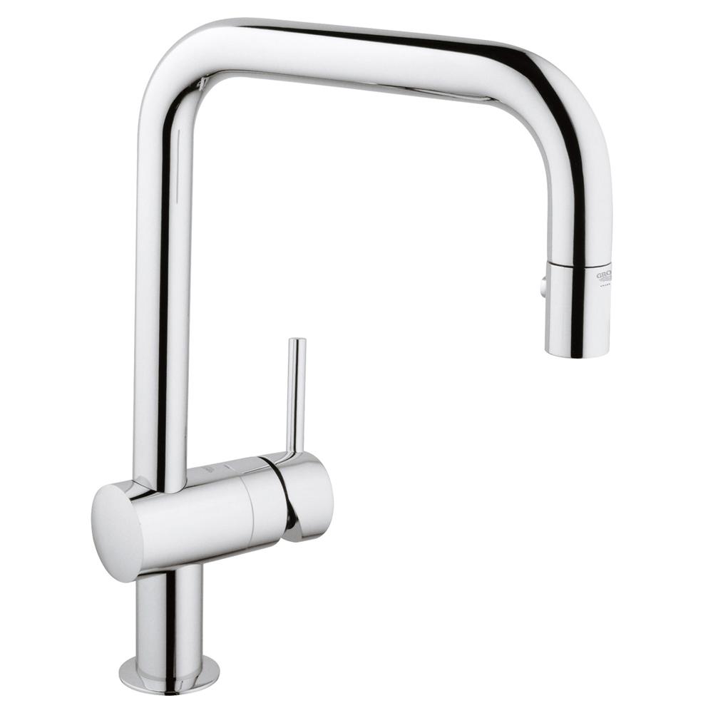 GROHE(グローエ) キッチン水栓金具 ミンタ シングルレバーキッチン混合栓 30282000