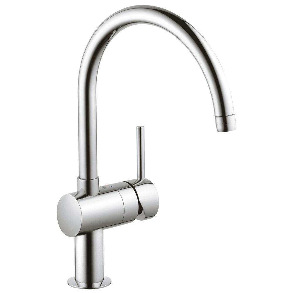 GROHE(グローエ) キッチン水栓金具 ミンタ シングルレバーキッチン混合栓 30285000