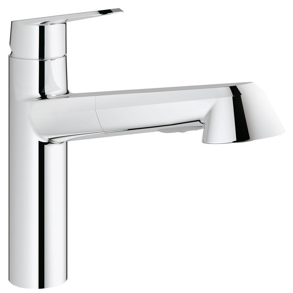 GROHE(グローエ) キッチン水栓金具 ユーロディスク コスモポリタン シングルレバーキッチン混合栓 31390002