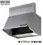 速くおよび自由な 富士工業 レンジフード BDR-3HL-6017SI 幅60cm全高70cm幕板同梱, ウラソエシ ea326c4d