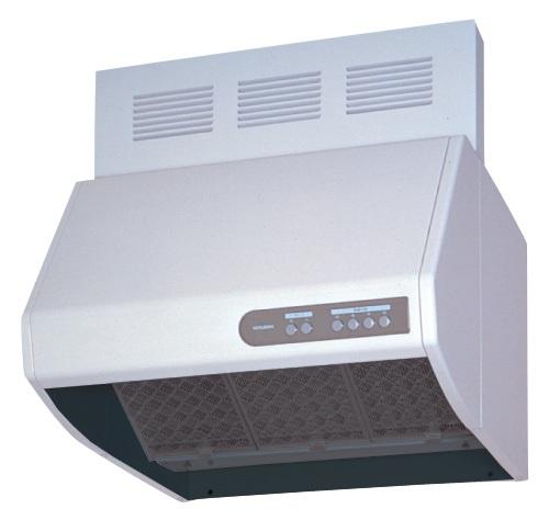 三菱 レンジフード V-604KQH6 幅60cm全高60cm幕板付 熱交換 強制同時給排気タイプ