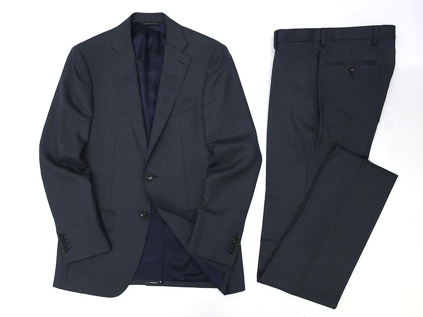 D'URBAN ダーバン r.a.s.o. シングルスーツ シャドウチェック 予約販売品 2B ウール ジャケット 格安 価格でご提供いたします スーツ 38 セットアップ 90503t09 100 グレー パンツ