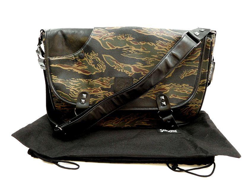 Schott ショット TIGER CAMO RIDERS SHOULDER BAG PVC タイガーカモ ショルダーバッグ /ym20180717-1