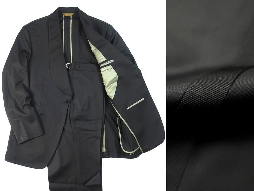カナダ製 定価27万 Paul Stuart ポールスチュアート ウール100% 商品追加値下げ在庫復活 タキシード ar190122_7w セットアップ 黒 スーツ アウトレットセール 特集 41 Lサイズ位