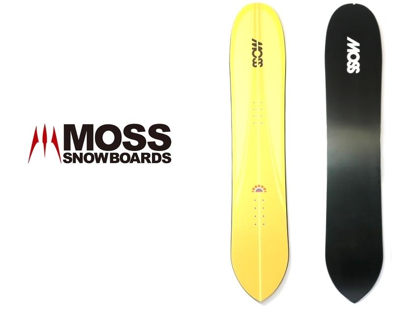 新品 MOSS SNOWSTICK モス スノーボード スノボ 板 黄/ar190215_8w