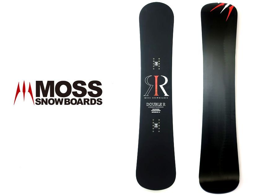 MOSS SNOWBOARD モス スノーボード REVOLVER RR リボルバー ダブルアール 板 黒 140/ar190218_8w