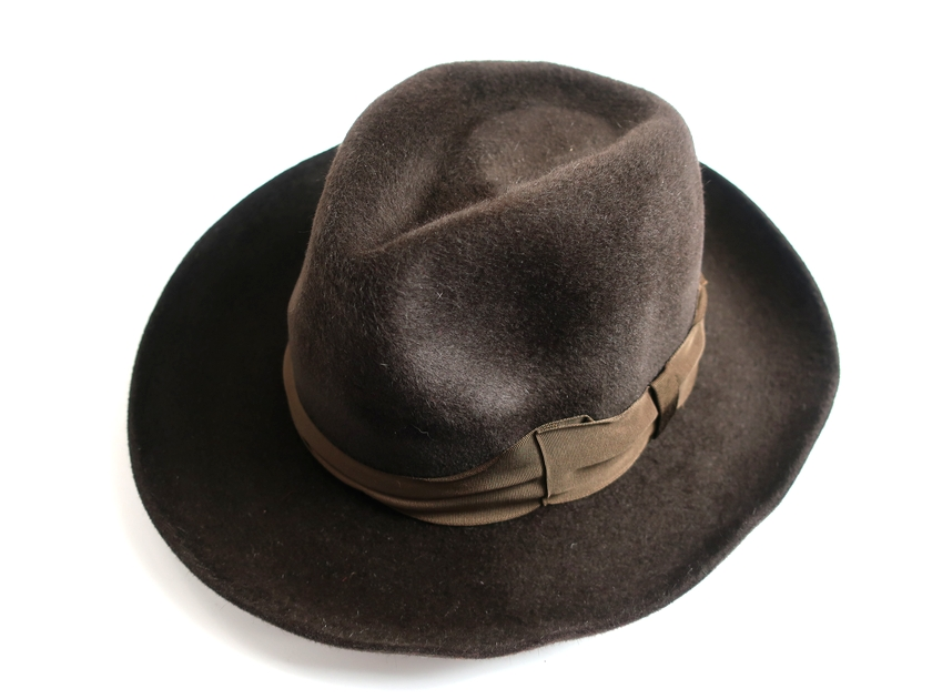WACKO MARIA GUILTY PARTIES 東京HAT ROCKERS ワコマリア ラビットファー ハット HAT-02-BASQUIAT-MAGA 新品 日本製 定3万 帽子 M 茶▲080▼90516k04