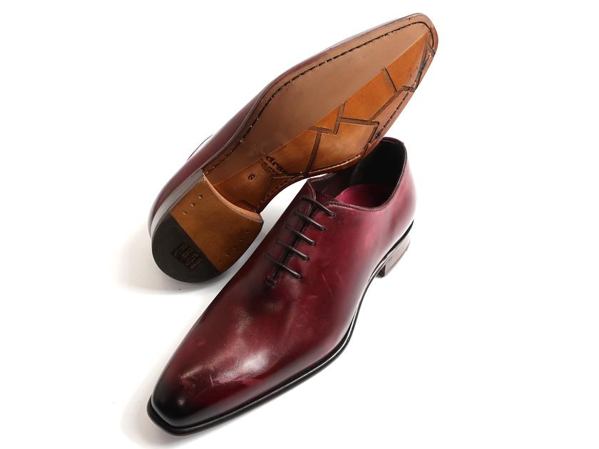 madras マドラス 手染め ホールカット レザーシューズ ビジネスシューズ 靴 イタリア製 紫 6▲100▼90709k05
