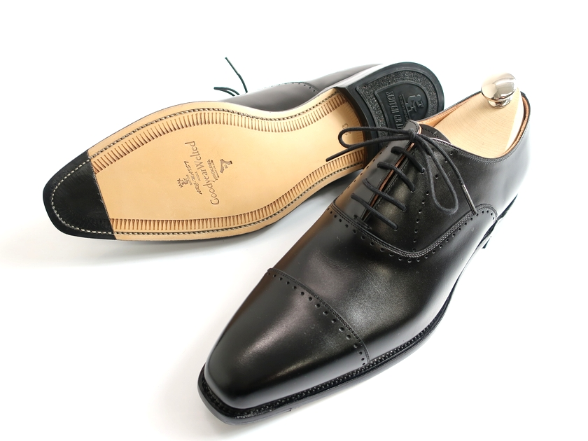 SCOTCH GRAIN スコッチグレイン 756 日本製 グッドイヤーウェルテッド製法 内羽根 ストレートチップ レザー ビジネスシューズ 革靴 定3.4万 黒 25-01 25.5-02 26-03 26.5-04▲160▼90809k07