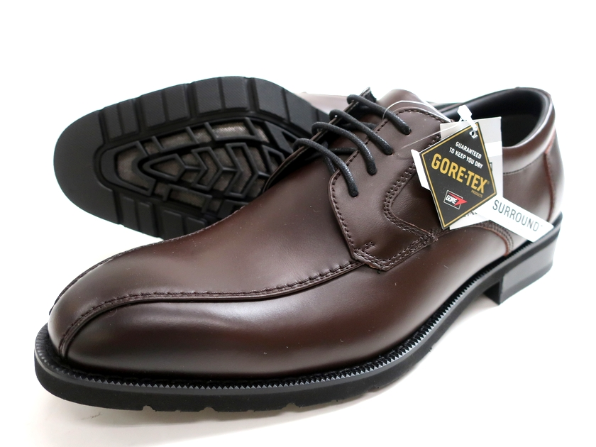 madras Walk マドラス 日本製 GORE-TEX 本革 外羽根 レザーシューズ ビジネスシューズ 革靴 ブラウン 24EEE▲042▼00710k17