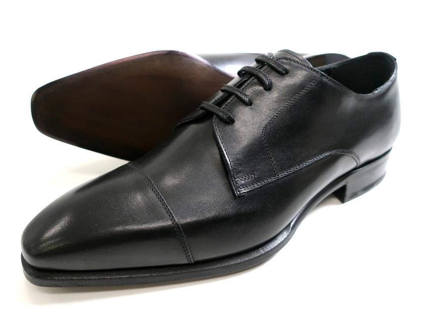 Francesco cimmino フランシスコチミーノ マドラス イタリア製 マッケイ製法 ヒドゥンチャネル仕様 本革 外羽根 ストレートチップ レザーシューズ ビジネスシューズ 革靴 ブラック 39▲042▼00713k02