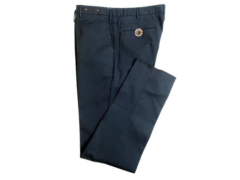 PT01 ピーティーゼロウーノ BUSINESS Lux Cloth SUPERFINE SELECTED お得 FABRIC SLIM FIT 56 ストレッチ スラックス スーパーセール パンツ 060 01111k06 ネイビー 定3.3万 コットン