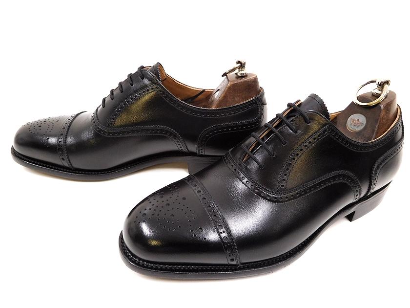 日本製 SCOTCH GRAIN スコッチグレイン 4010 内羽根 メダリオン スレートチップ レザー ビジネスシューズ 革靴 グッドイヤーウェルト製法 24EEEE /ok190116-2 /メンズ