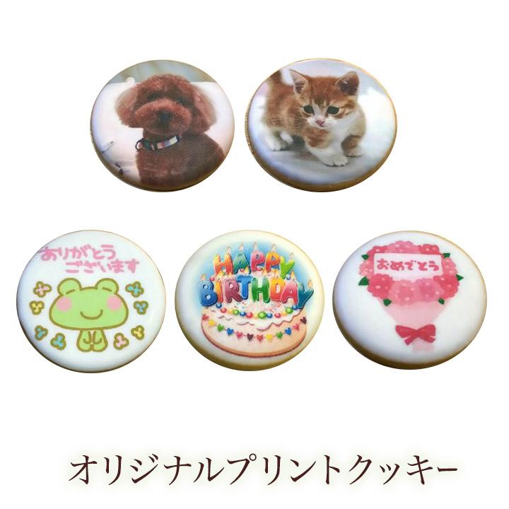 オリジナルプリントクッキー ギフト 焼き菓子 クッキー 休み 宅配便送料無料 プレゼント