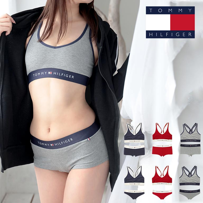 3f2a22bc74f1 TOMMY HILFIGER/ トミーヒルフィガーブラ & shorts top and bottom set Lady's underwear  knight ...