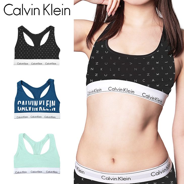 a1025facd17c7 Super SALE discount item ☆ Calvin Klein   Calvin Klein modern cotton sports  bra ladies re-issue guitars bra bra bra pad bra Slinky solid color woman he  ...