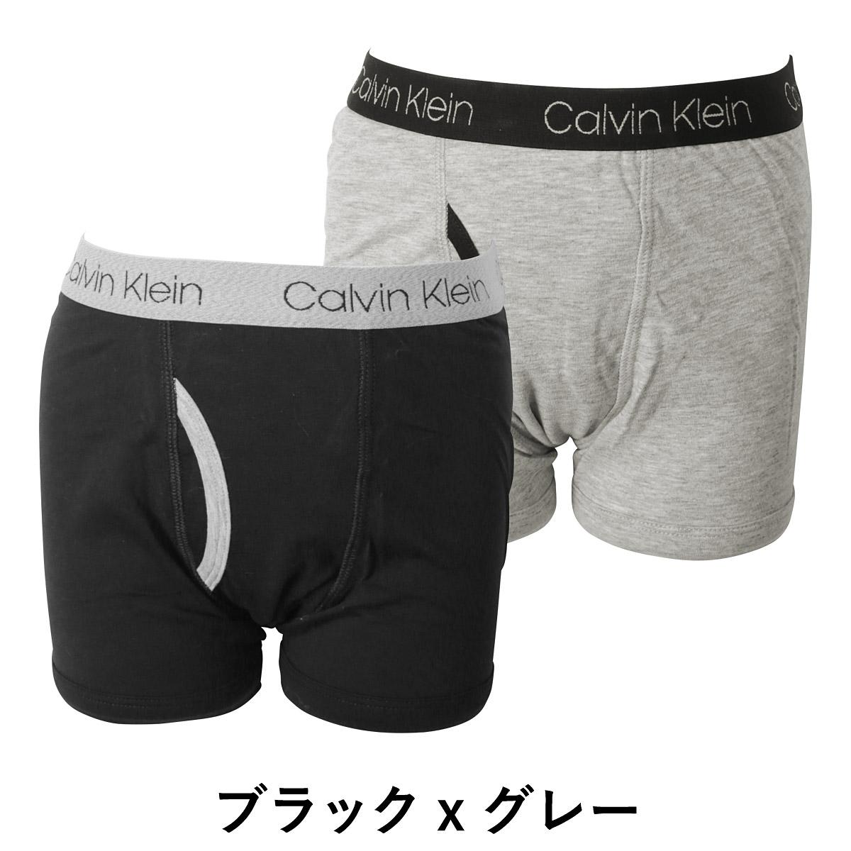 716ac5afe5427e Group of two pieces of Calvin Klein boxer underwear kids underwear BOYS  CORE CLASSIC Boys Jr. child toddler kids underwear article fashion set Calvin  Klein ...