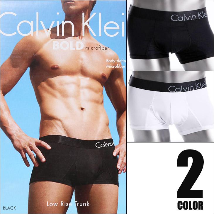 ★ Calvin Klein (Calvin Klein) BOLD microfiber Low Rise Trunk Boxer shorts ★ Lowrise men underwear men's gift birthday present boyfriend Calvin Klein
