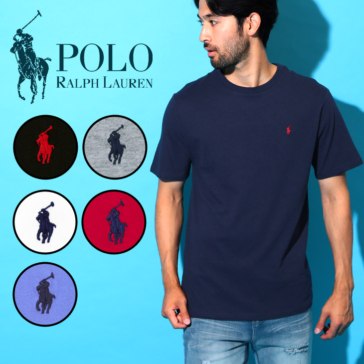 719bf326 Polo Ralph Lauren T-shirt men short sleeves crew neck round neck U neck  kids Lady's youth POLO RALPH LAUREN JERSEY one point matching pair couple  brand ...