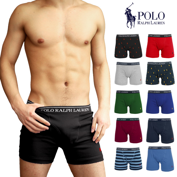 be7350c9 Polo Ralph Lauren boxer underwear men POLO RALPH LAUREN underwear fastening  in front one point plain fabric logo brand Ralph petit gift birthday ...