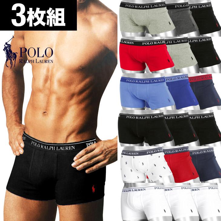 28494c6005f Class polo Ralph Lauren boxer underwear men underwear roller is plain  fabric one point cotton CLASSIC FIT COTTON TRUNKS three pieces set POLO  RALPH ...