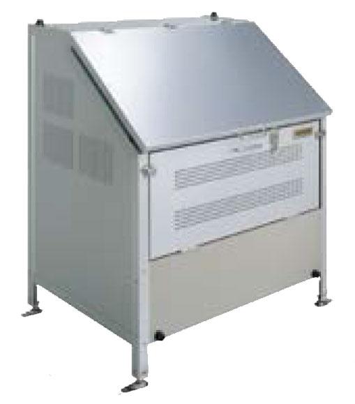 タクボ クリーンキーパーCK-G0907【容量400L 45Lゴミ袋8個相当 約5世帯 大型ゴミ箱 ゴミステーション アルミ製 アジャスター付き固定足】