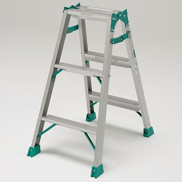 はしご兼用脚立 JOB-90E【脚立 はしご 中折式 作業台 足場台】