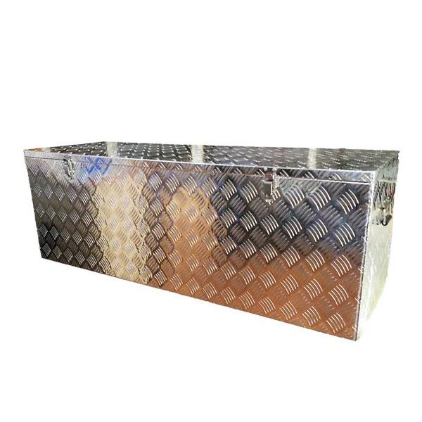 アルミ収納ボックス MT-AL1【アルミ製 収納 ガーデン 軽トラック 荷台 道具箱 防水】